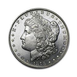 1878 $1 Morgan Silver Dollar AU