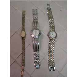 Citizen Ladies Watch, Coranelle by Bulova Watch, & Constant Watch