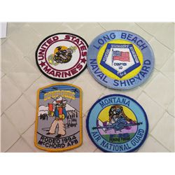 Navy/Marines Patches