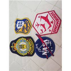 Nasa, Blue Angels, & Snowbirds Patches