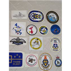 14 x Navy/Airforce Stickers