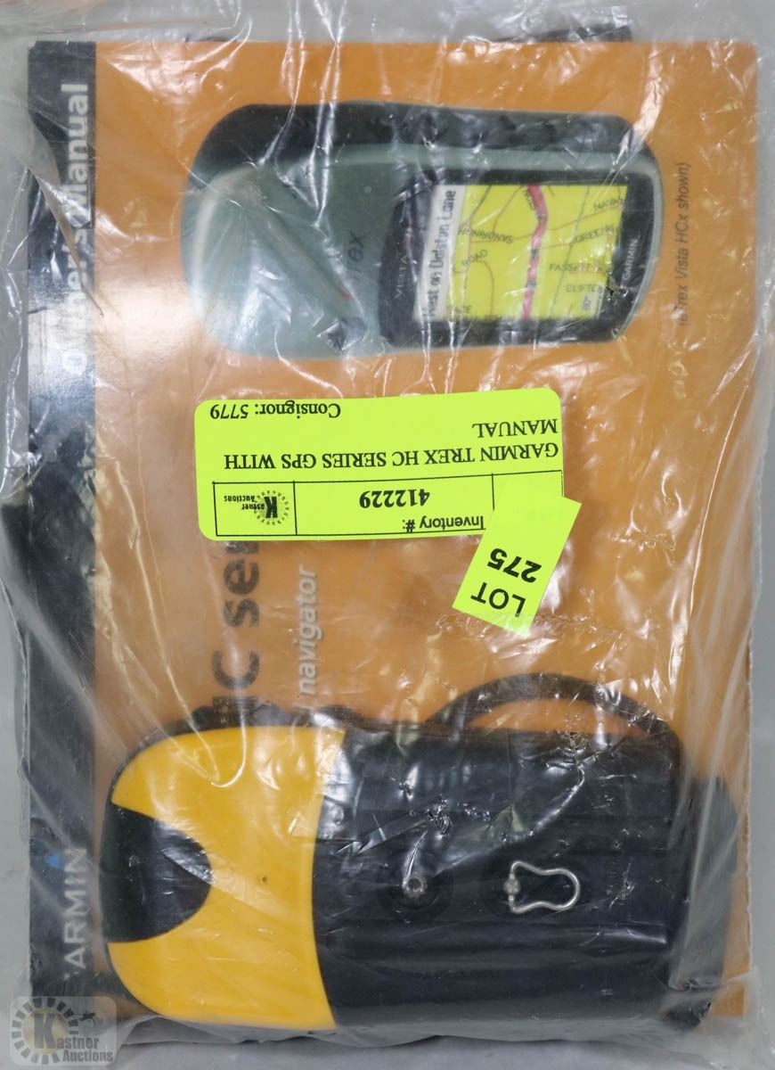 GARMIN TREX HC SERIES GPS WITH MANUAL