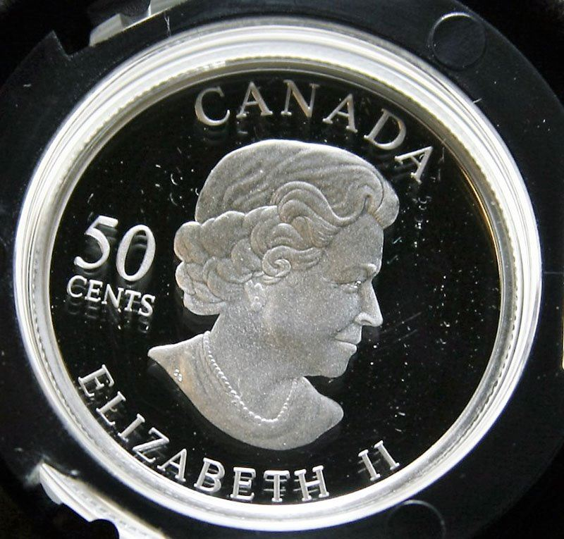 2006 Canada Sterling Silver 50-Cent Coin - Butterfly Collection
