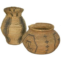 2 Miniature Baskets