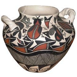Acoma Pottery Jar - SW Stevens