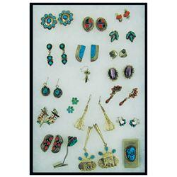 Navajo & Zuni Earrings