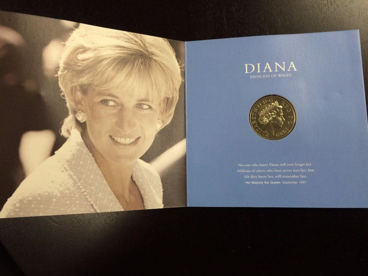 Diana Princess Of Wales Memorial Coin