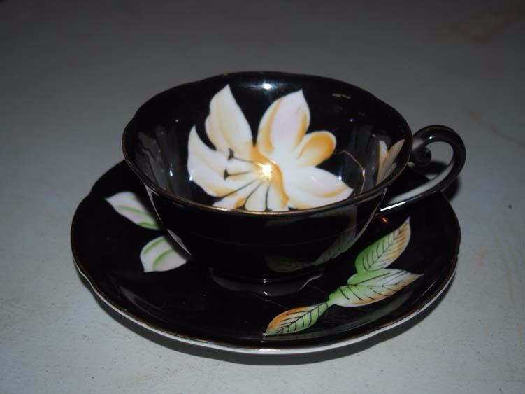Cup And Saucer, Made In Occupied Japan