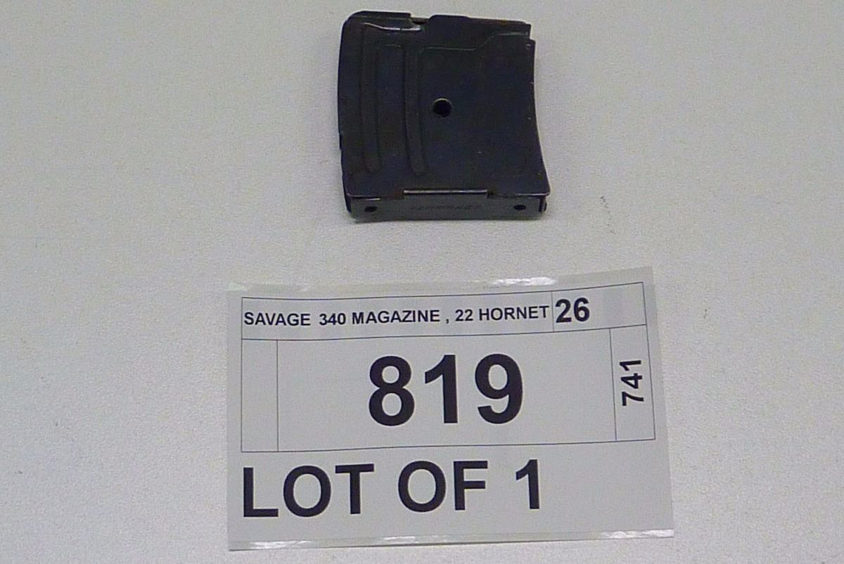SAVAGE 340 MAGAZINE , 22 HORNET