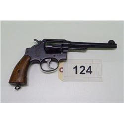 S & W , MODEL: HAND EJECTOR MILITARY AND  POLICE MOD 3 OF 1905 CHANGE 4 , CALIBER: 38 S & W
