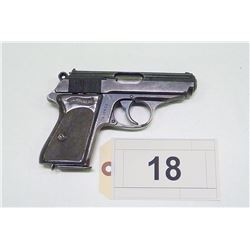 WALTHER , MODEL : PPK , CALIBER: 7.65MM