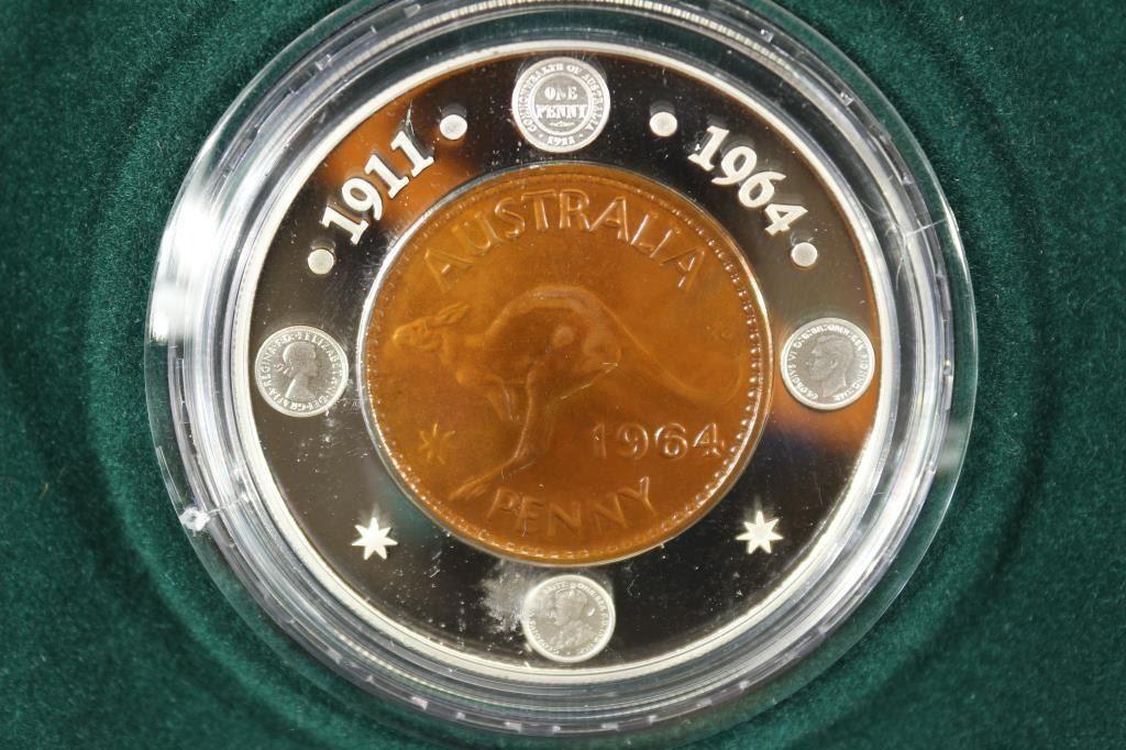 2004 1964 Penny Silver Proof Royal Australian Mint