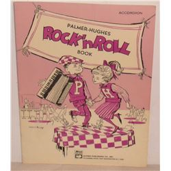 RARE accordion Rock n Roll book, Alfred Publishng, NY - sheet music notes course - musique