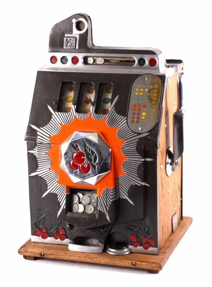 Bursting Cherry Slot Machine