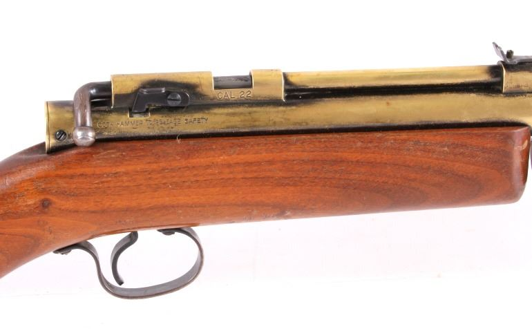 Benjamin Franklin Model 312  22 Pump Action Air Rifle