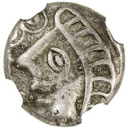 ATREBATES: Commios, ca. 50-40 BC, AR unit. NGC VF