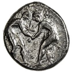 ASPENDOS: AR stater (10.60g), ca. 370-333 BC. VF
