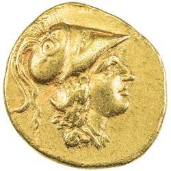 MACEDONIAN KINGDOM: Alexander III, the Great, 336-323 BC, AV stater (8.48g). EF