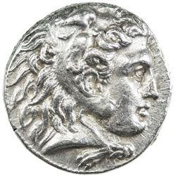 MACEDONIAN KINGDOM: Alexander III, the Great, 336-323 BC, AR tetradrachm (17.09g), Babylon. EF