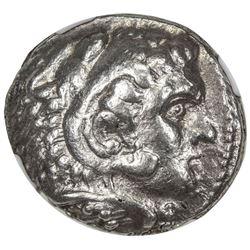 MACEDONIAN KINGDOM: Alexander III, the Great, 336-323 BC, AR tetradrachm. NGC VF