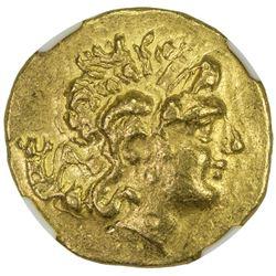 "PONTIC KINGDOM: Mithradates VI, Eupator, the ""Great"", 120- 63 BC, AV stater (8.32g). NGC AU"