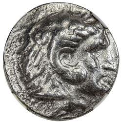 SELEUKID KINGDOM: Seleucus I, 312-281 BC, AR tetradrachm (16.96g). NGC VF