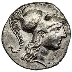 SIDE: AR tetradrachm (15.84g), 2nd-1st century BC. EF