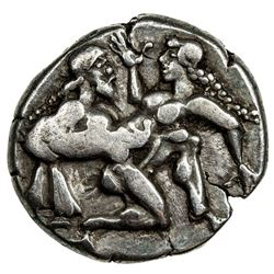 THASOS: Anonymous, ca. 463-411 BC, AR stater (8.92g). VF