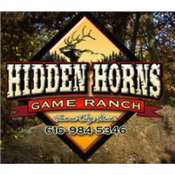 HIDDEN HORNS GAME RANCH - SAND LAKE, MI   Arctic Hogs for 4 Hunters