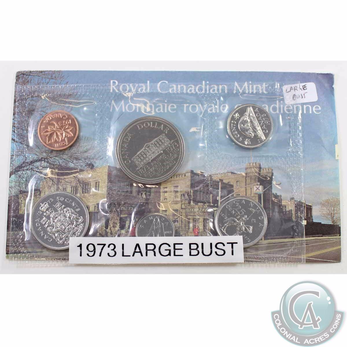 CANADA PROOF LIKE SET 1973 LARGE BUST