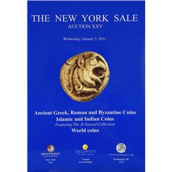 The New York Sales: Ancient Coin Catalogues