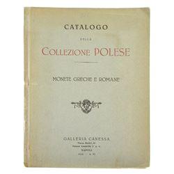 Canessa's 1928 Collezione Polese: Monete Greche e Romane
