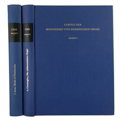 Corpus der Minoischen und Mykenischen Siegel Volumes