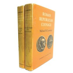 First Edition Crawford on Roman Republican Coins
