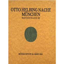 Otto Helbing Sales of Ancient Coins
