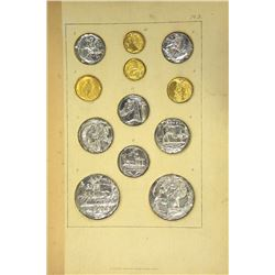 With Remarkable Embossed Foil Facsimiles of Ancient Coins