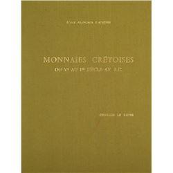 Monnaies Crétoises, by Georges Le Rider