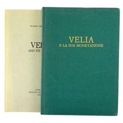Mangieri on Velia, in Italian & English
