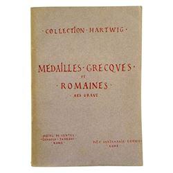 Collection Hartwig: Médailles Grecques et Romaines