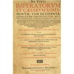 Octavio Strada's Numismatically Illustrated 1615 Lives of the Emperors