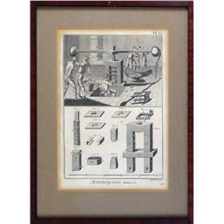 Complete Set of Diderot's Famous Series of Engravings