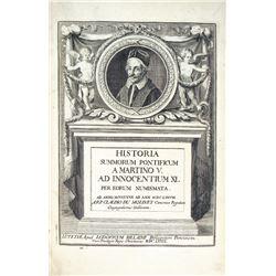 The 1679 Historia Summorum Pontificum of Claude du Molinet