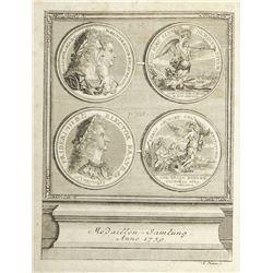 Lochner's 1739 Sammlung Merkwürdiger Medaillen