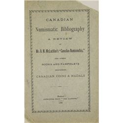 The First Canadian Numismatic Bibliography