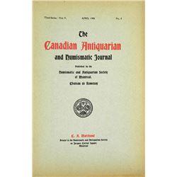 Canadian Antiquarian & Numismatic Journal