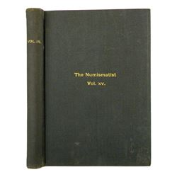 1902 Volume of the Numismatist