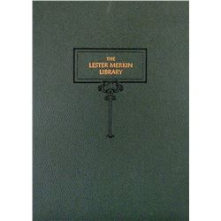 Leatherbound Merkin/Picker Library Sale