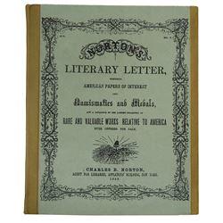 "Mayer's ""Literature of American Numismatics"""