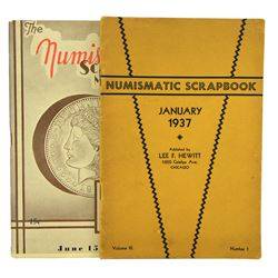A Complete Set of the Numismatic Scrapbook Magazine