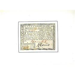 Potter & Rider on Rhode Island Paper Money